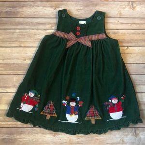 ⛄️🎄Green Christmas dress EUC